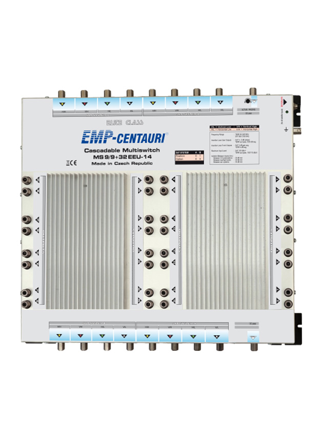 Cascadable multiswitch MS9/9+32EEU-14