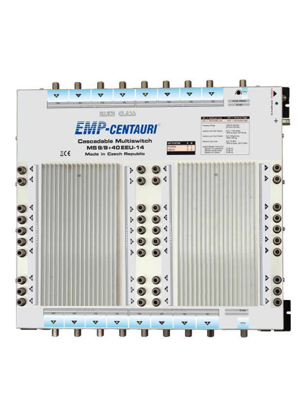 Cascadable multiswitch MS9/9+40EEU-14