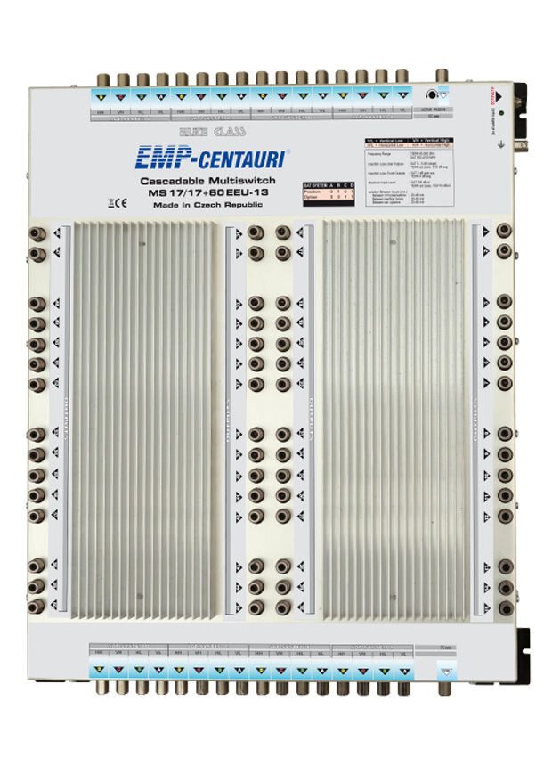 Cascadable Multiswitch MS17/17+60EEU-13